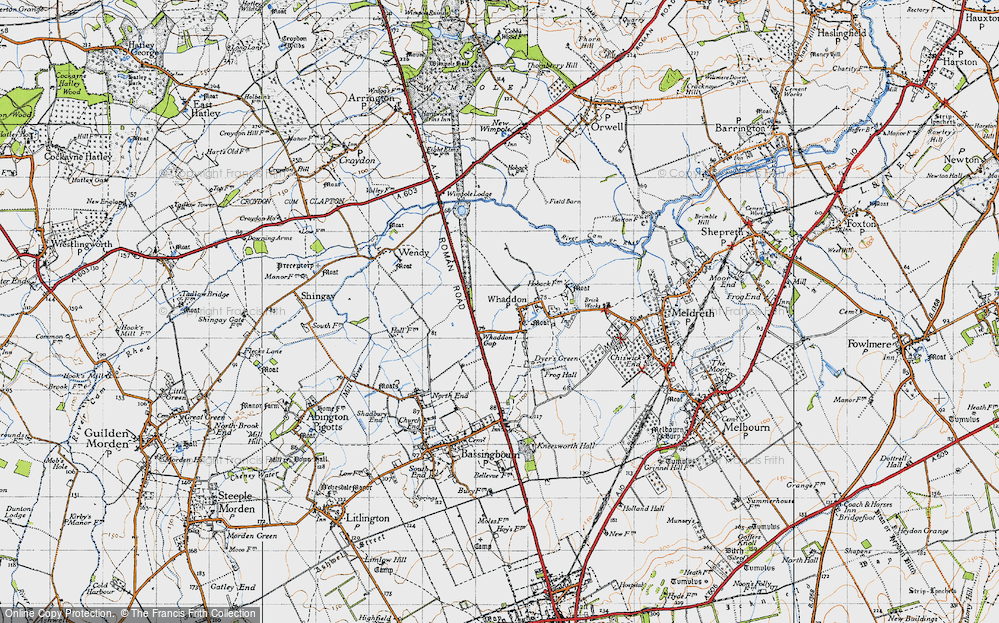 Whaddon Gap, 1946