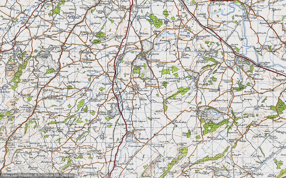Old Map of Wheathall, 1947 in 1947