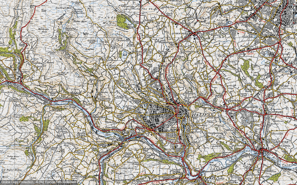 Old Map of Wheatley, 1947 in 1947