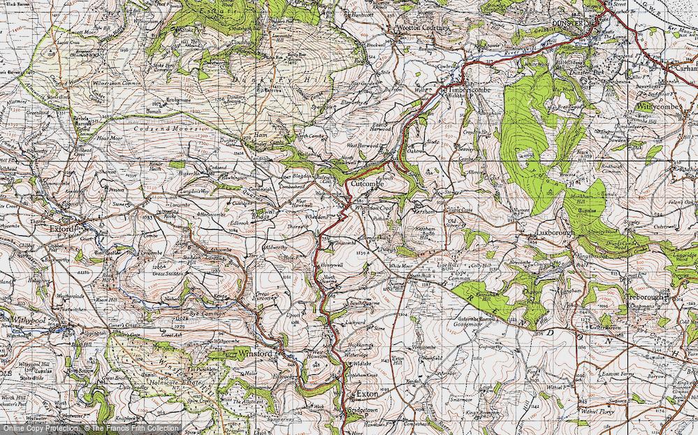 Wheddon Cross, 1946