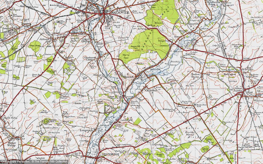 Wherwell, 1945