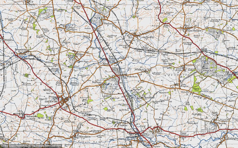 Whilton Locks, 1946