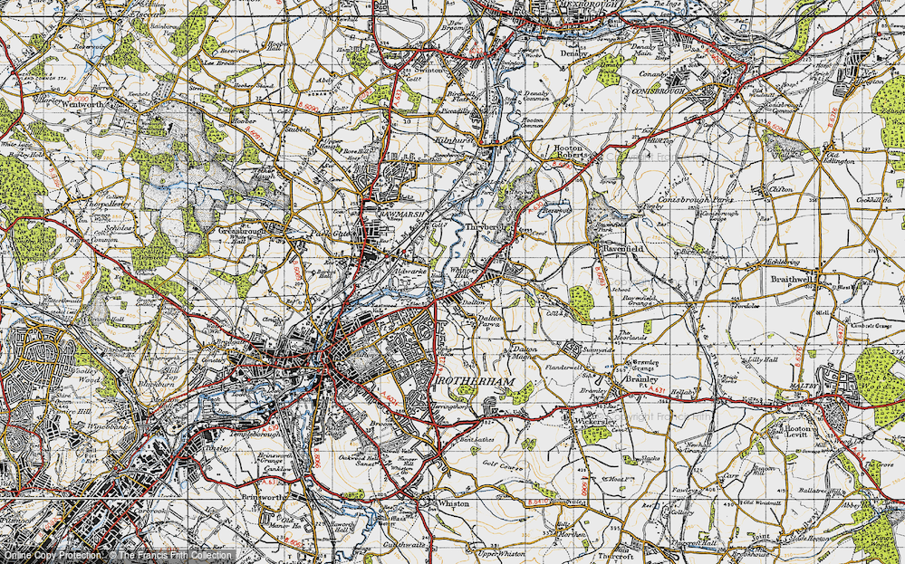 Whinney Hill, 1947