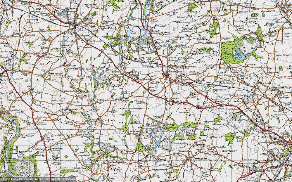 Whiston Cross, 1946