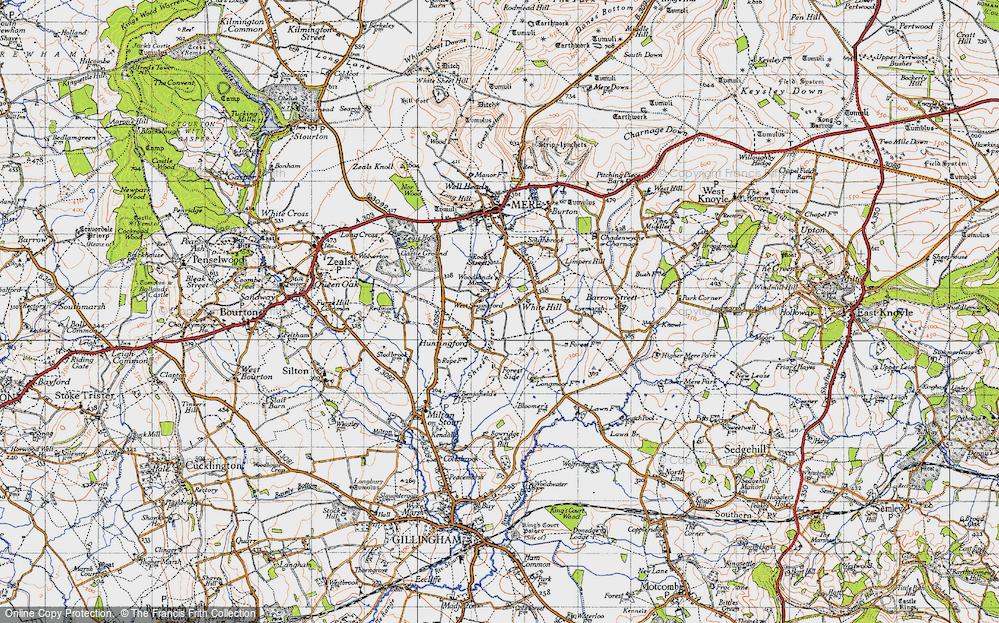 White Hill, 1945