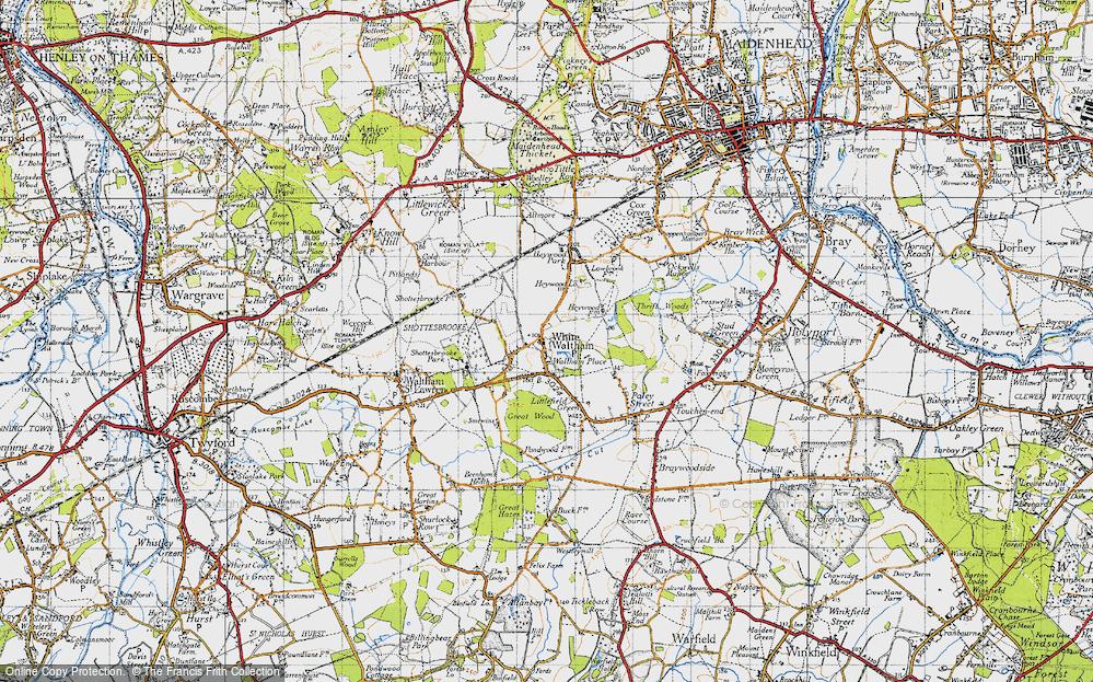 White Waltham, 1947