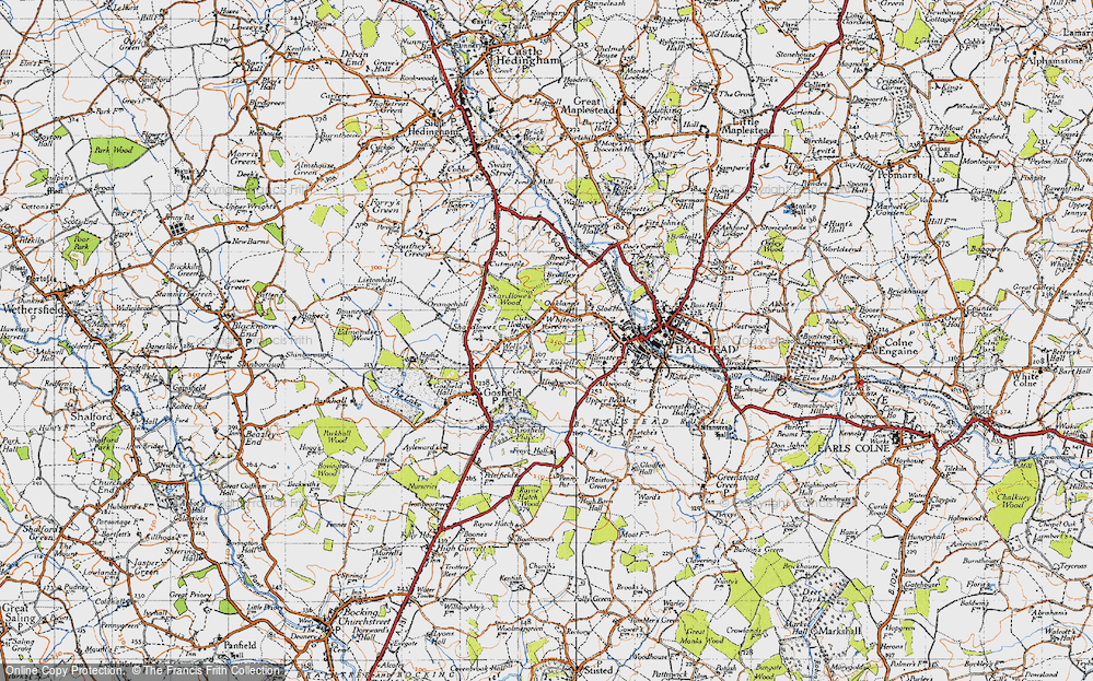 Whiteash Green, 1945
