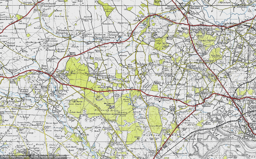 Whitefield, 1940