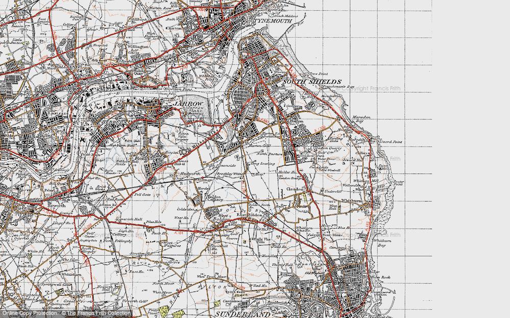 Whiteleas, 1947