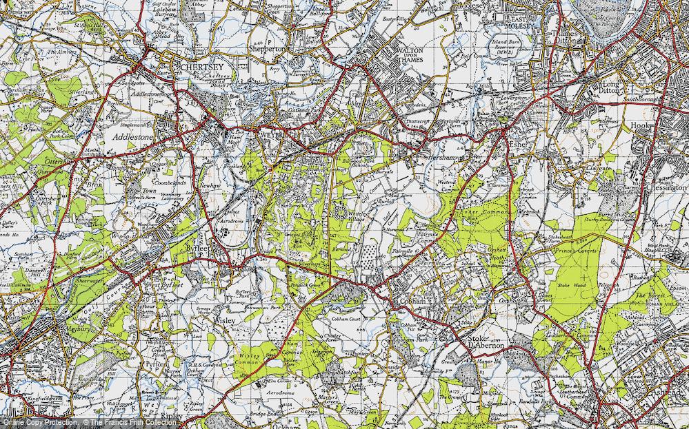 Whiteley Village, 1940
