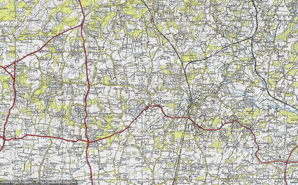 Whitemans Green, 1940