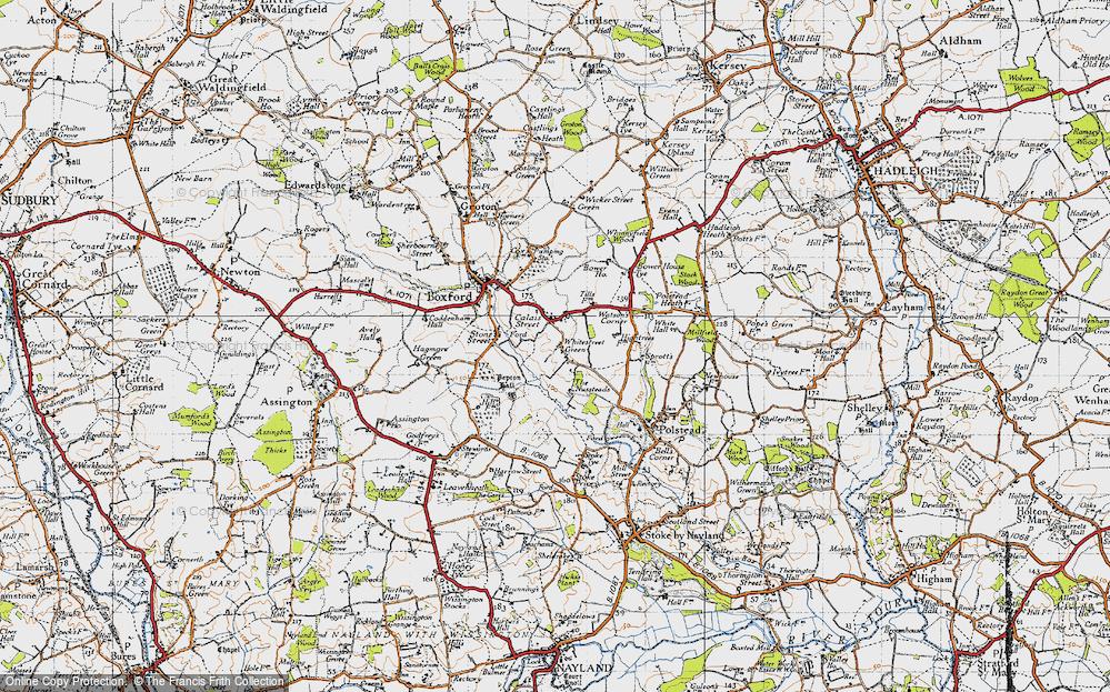 Whitestreet Green, 1946