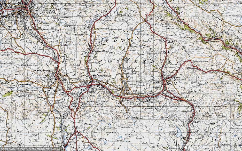 Whitewell Bottom, 1947