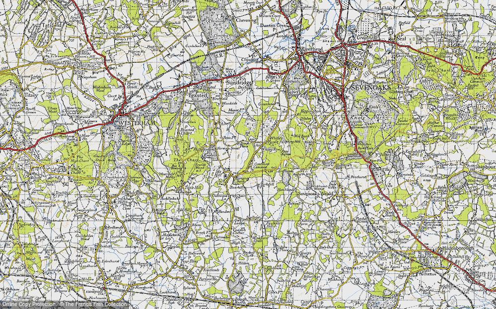 Whitley Row, 1946