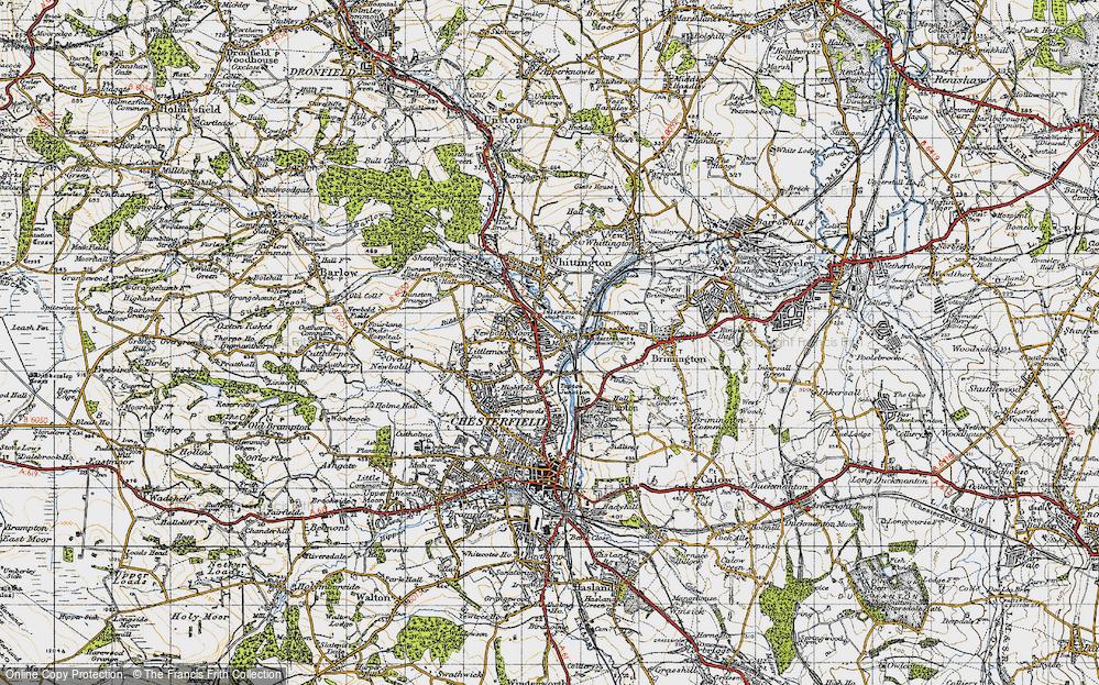 Whittington Moor, 1947