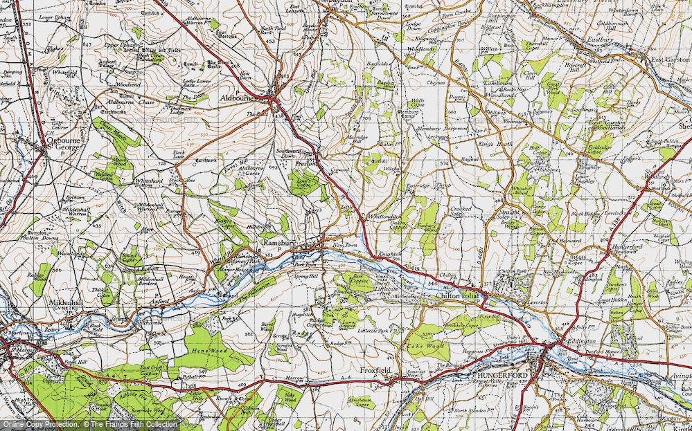 Whittonditch, 1940