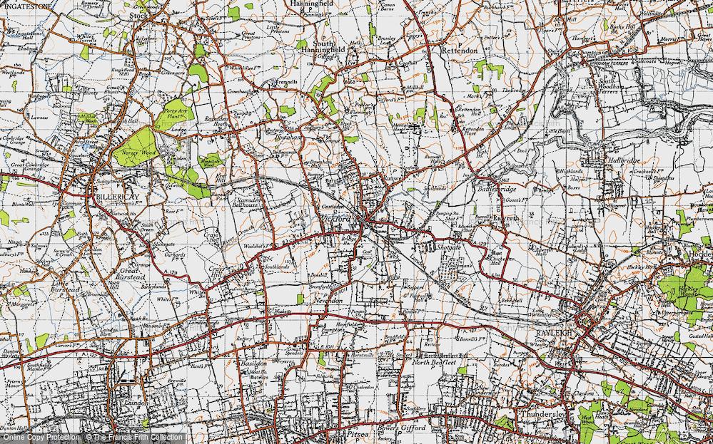 Wickford, 1945