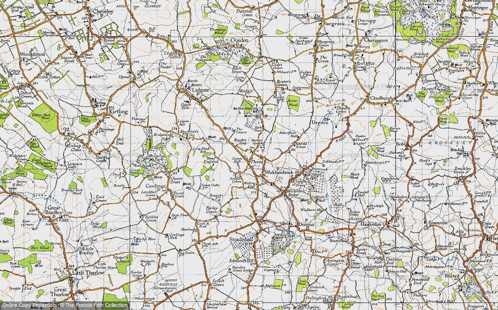 Wickhambrook, 1946