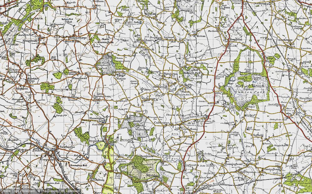 Wickmere, 1945