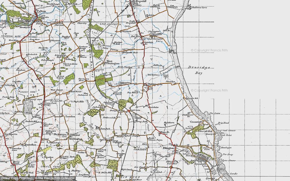 Widdrington, 1947