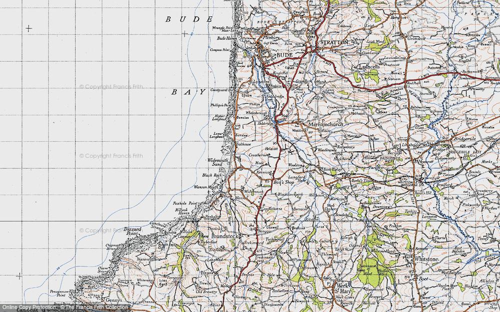 Widemouth Bay, 1946