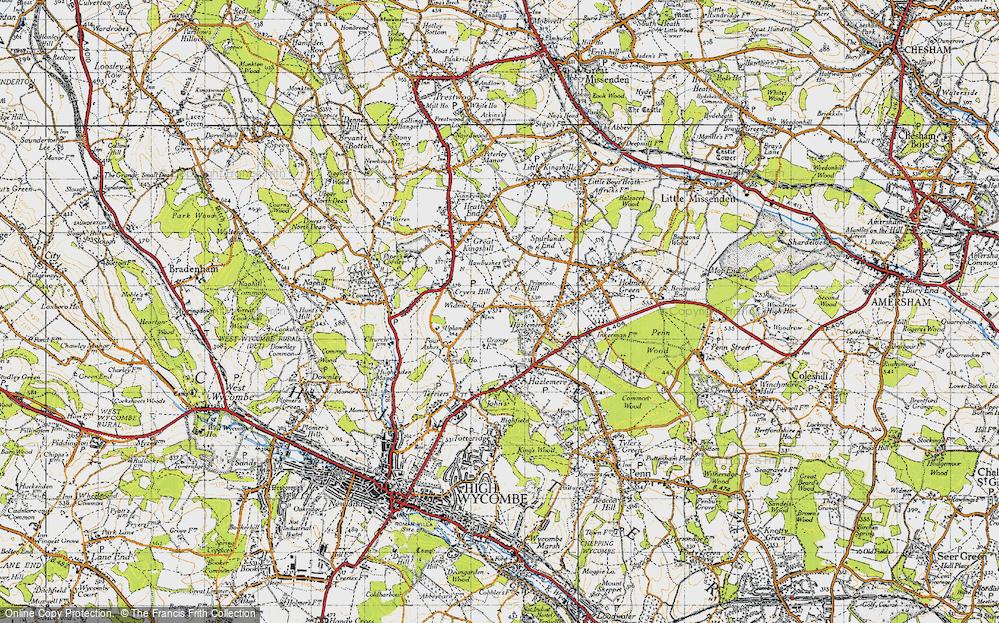 Widmer End, 1947