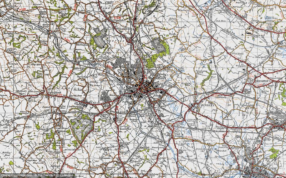 Wigan, 1947