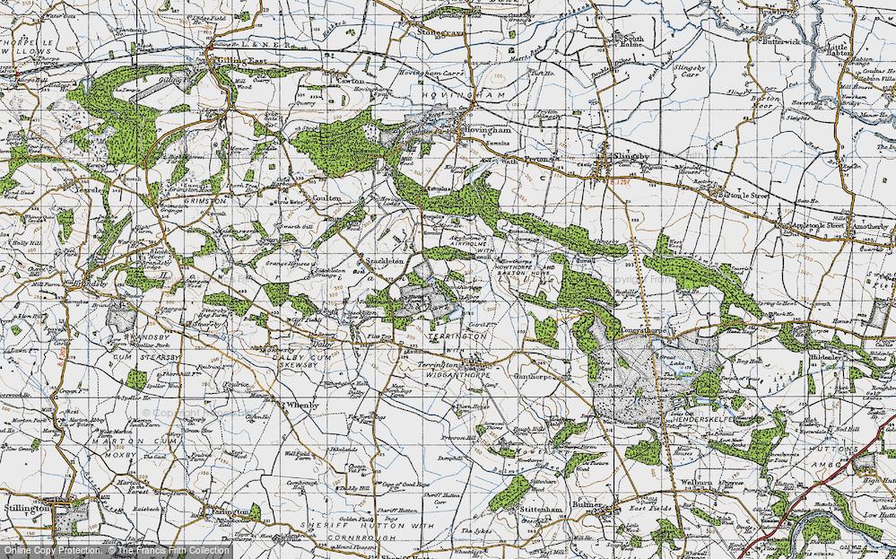 Wiganthorpe, 1947