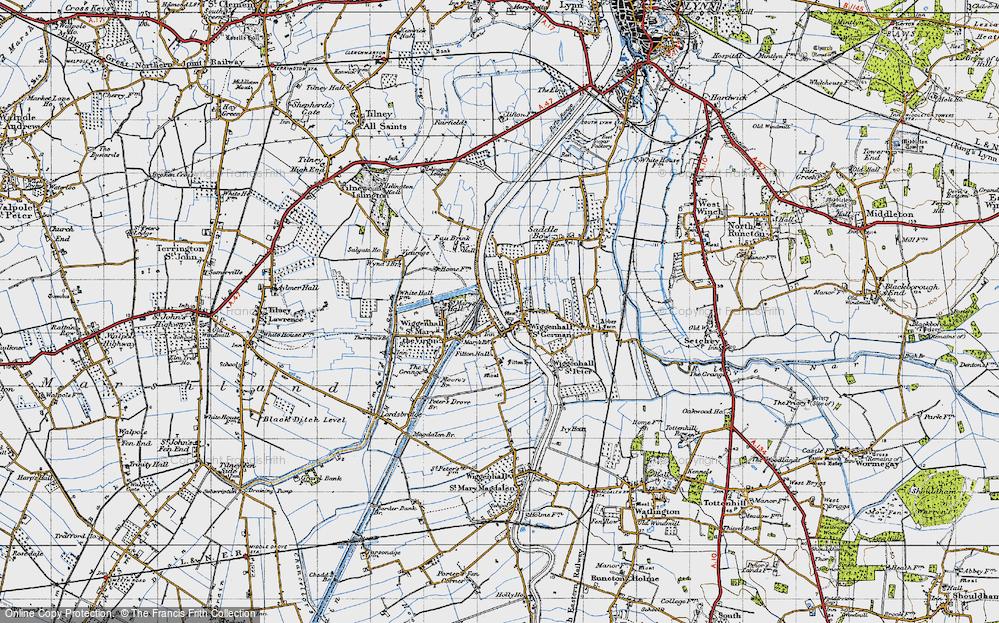 Wiggenhall St Germans, 1946
