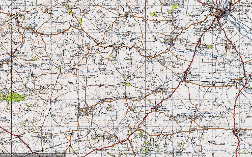 Old Map of Wigginton Heath, 1946 in 1946