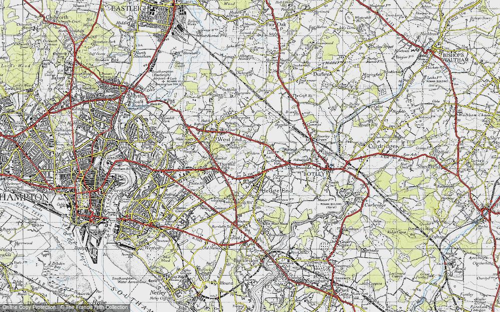 Wildern, 1945