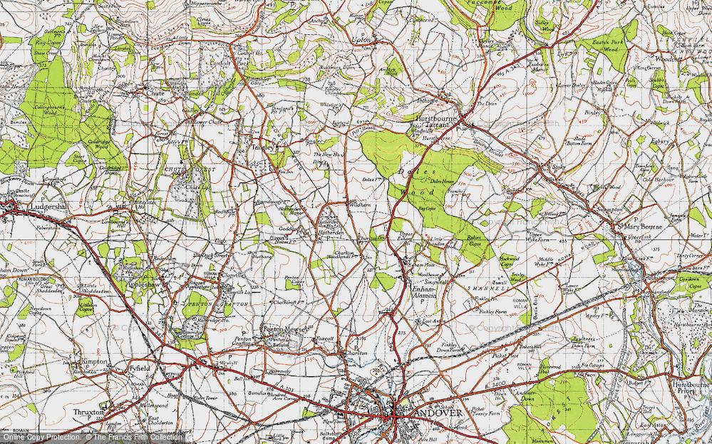 Wildhern, 1945