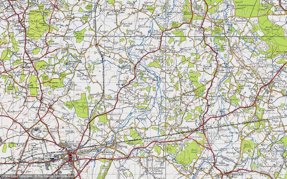 Wildmoor, 1945