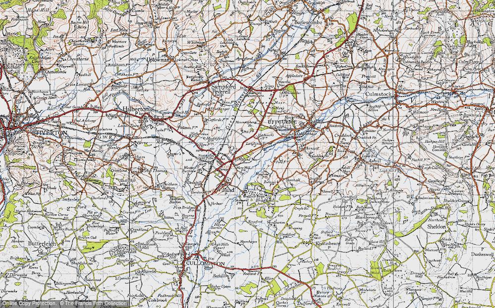 Willand Moor, 1946