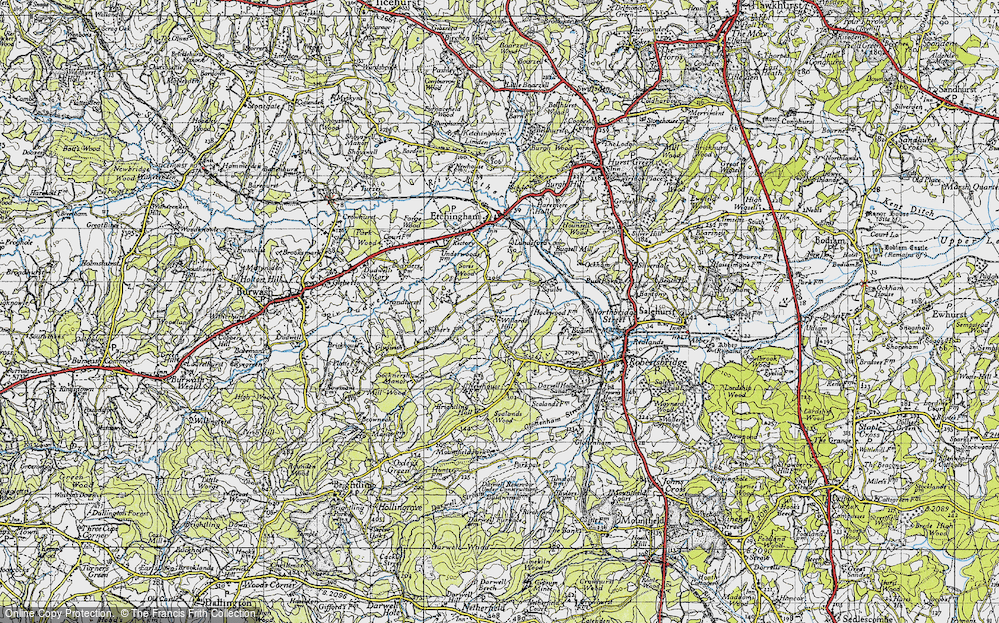 Willard's Hill, 1940