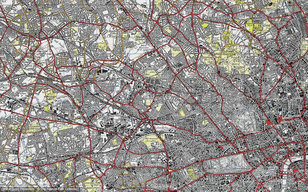 Willesden, 1945