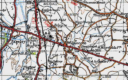 Old map of Wilnecote in 1946
