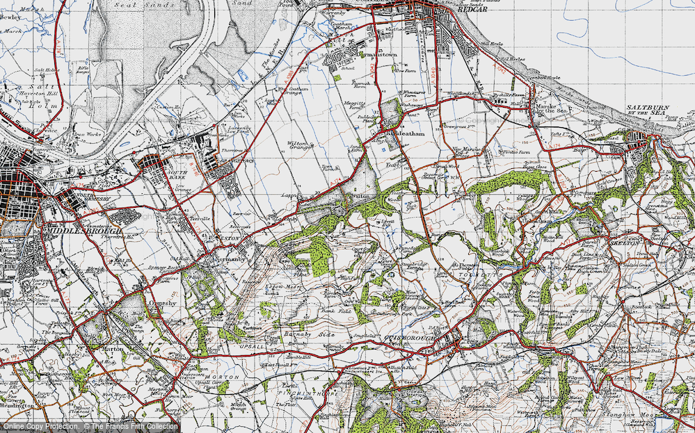Old Map of Wilton, 1947 in 1947