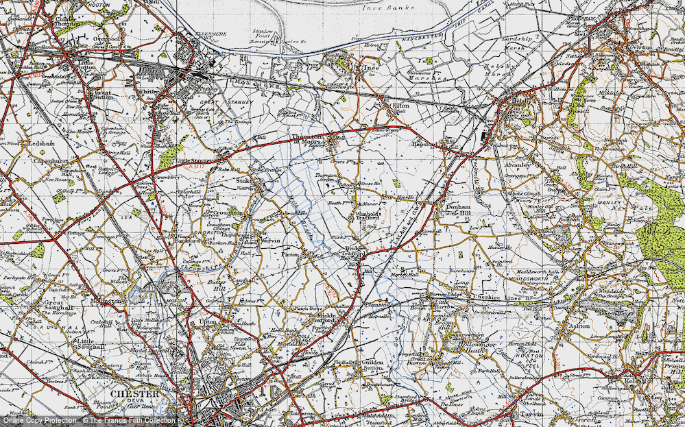 Wimbolds Trafford, 1947