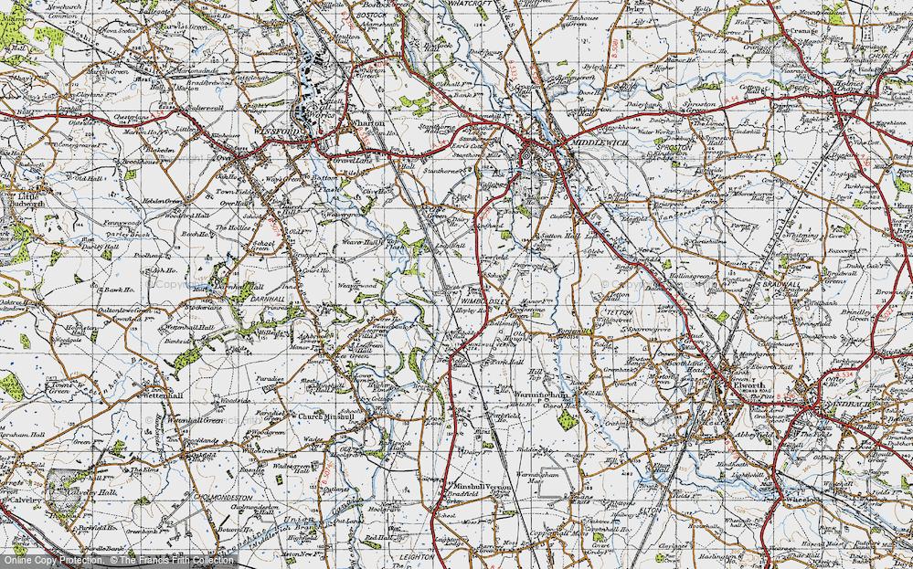 Wimboldsley, 1947