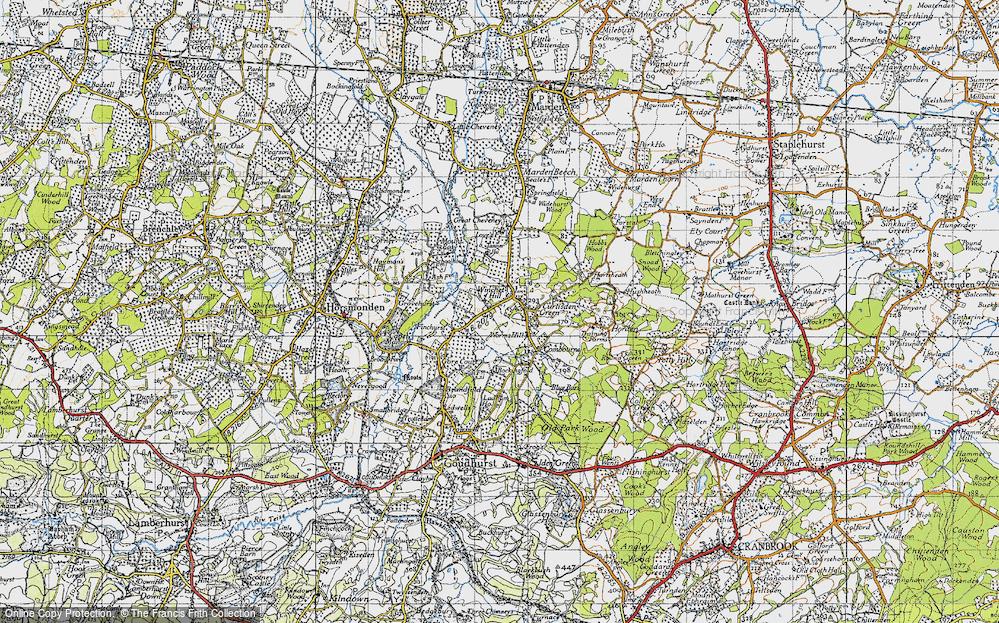 Winchet Hill, 1940