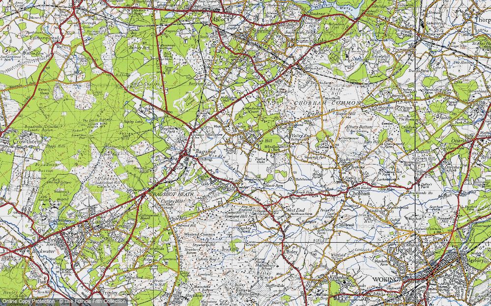 Windlesham, 1940
