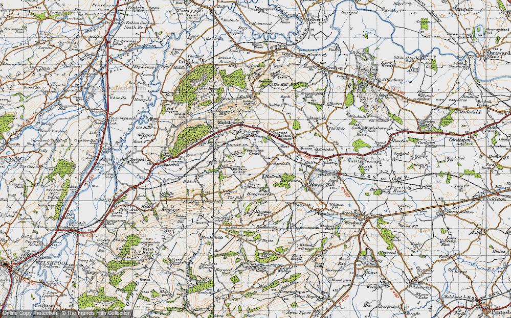 Winnington Green, 1947