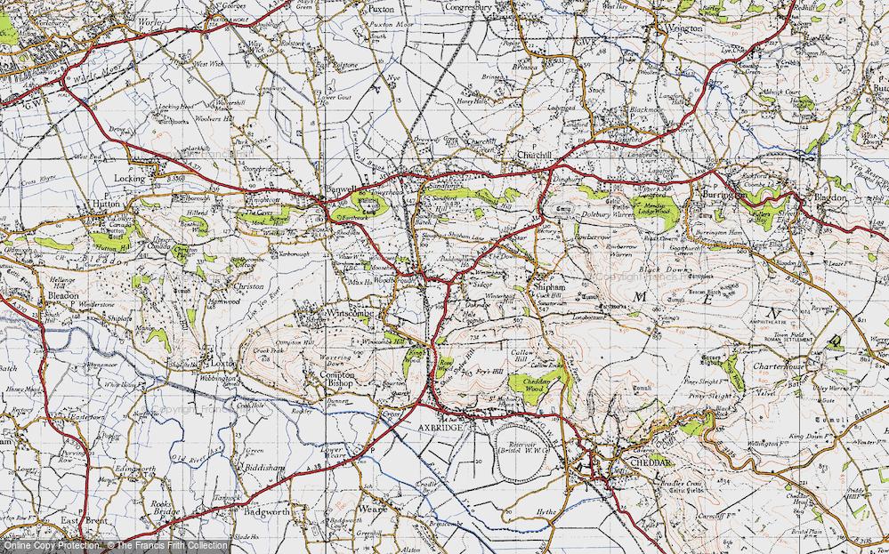 Winscombe, 1946