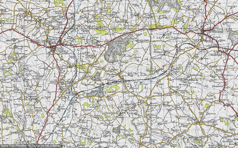 Winsham, 1945
