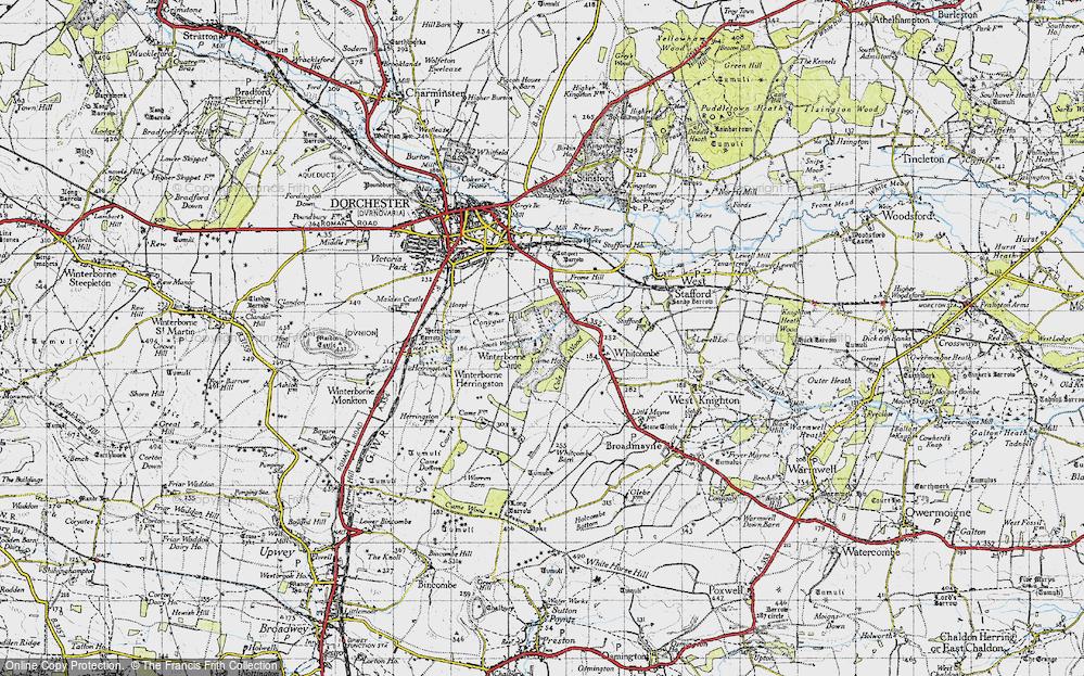 Winterborne Came, 1945