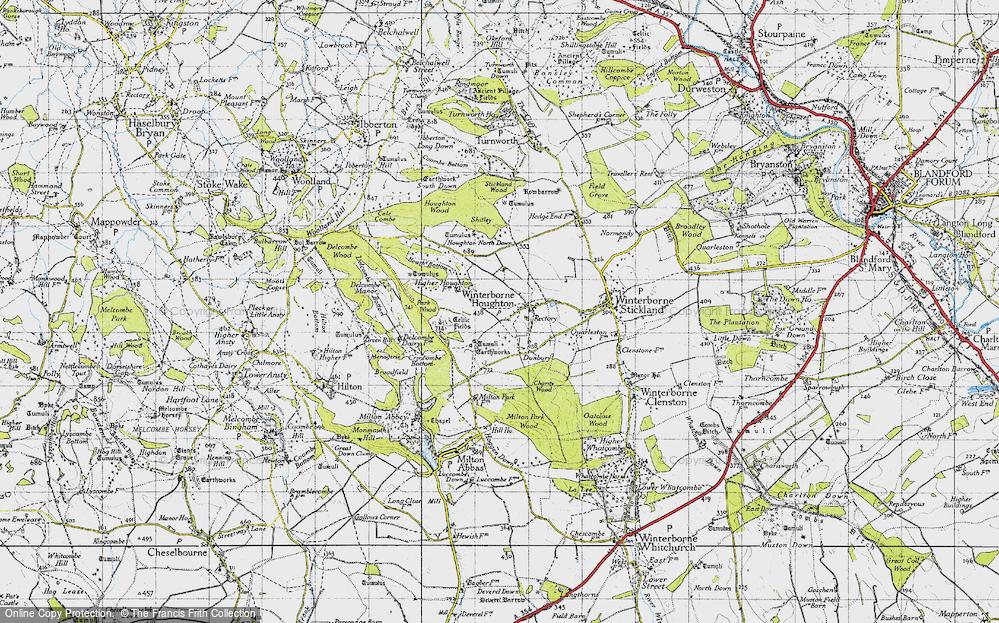 Winterborne Houghton, 1945