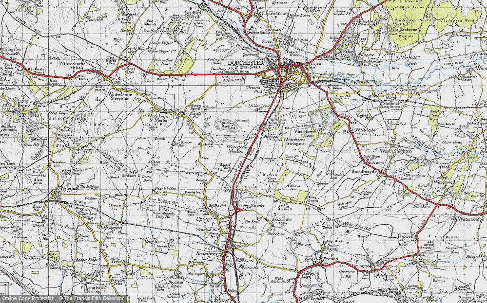 Winterborne Monkton, 1945