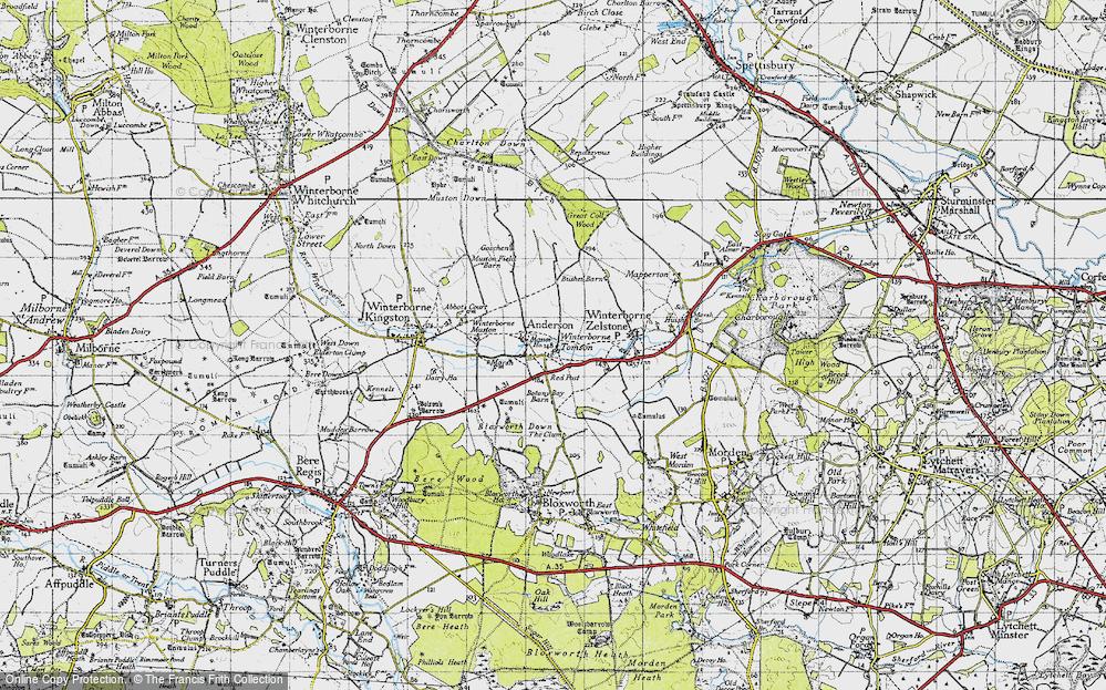 Winterborne Tomson, 1945