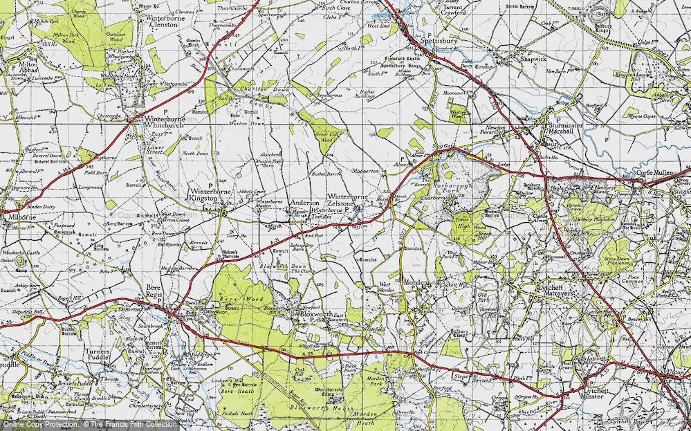 Winterborne Zelston, 1940